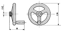 CMV actuator drawing